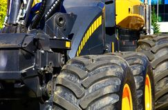 Part of the harvester Royalty Free Stock Images