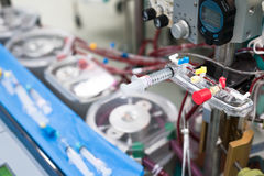 Part of heart lung machine. The part of heart lung machine Royalty Free Stock Image