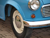 Part of the historic car. Czech Republic Royalty Free Stock Images
