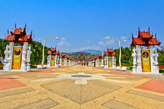 A part of Ho Kham Luang Stock Image