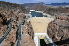 Part of Hoover Dam Stock Image