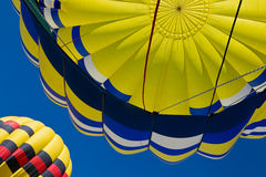 Part of hot air balloon royalty free stock photography