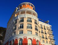Part of the hotel Stock Photo