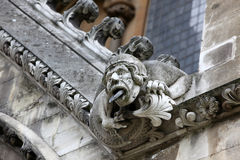 Part of House of Westminster Abbey Originally built in 11th Cent Royalty Free Stock Image
