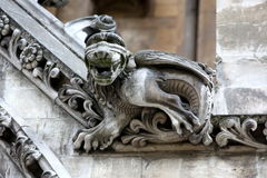 Part of House of Westminster Abbey Originally built in 11th Cent Stock Photography