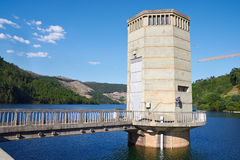 Part of hydroelectric power station Royalty Free Stock Photos