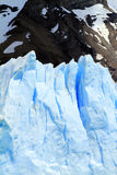 Patagonia Glacier. Part of an iceberg in Patagonia, South America Stock Images
