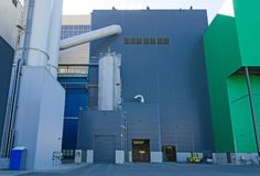 Part of industrial power plant Royalty Free Stock Photography