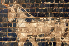 Part of Ishtar Gate Royalty Free Stock Images