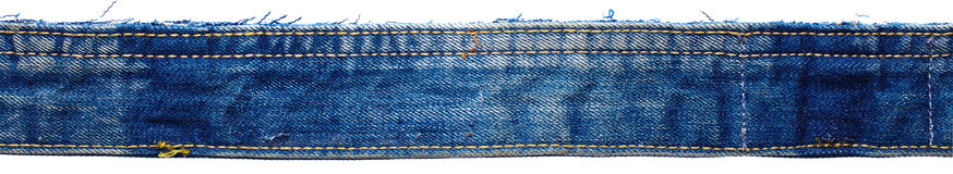 Part of jeans pants Stock Image