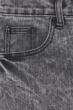 Part of jeans trousers with pockets Royalty Free Stock Image