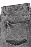 Part of jeans trousers with pockets Stock Photos