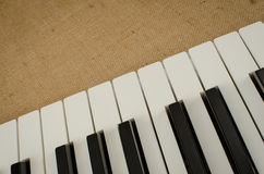 Part of keyboard Stock Photo