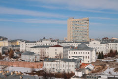 Part of KFU main cases. Kazan, Russia Stock Photos