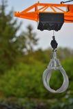 Part of a kidstoy crane Stock Photo
