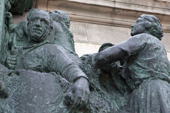 Part of King Leopold Statue in Belgium Stock Images