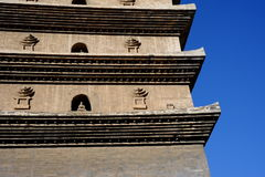The part of Kinmen and Matsu chicken tower. China `s Kunming, Yunnan, Kinmen and Matsu chicken, the part of tower Stock Photography
