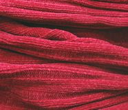 Part of knitted wool. The part of knitted wool Royalty Free Stock Images