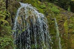 Part of the Krushuna waterfall cascade of river Proinovska near village Krushuna Stock Photography