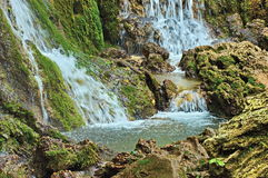 A part of Krushuna waterfalls cascade Stock Image