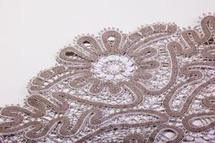 Part of lace macro Royalty Free Stock Photos