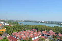 Part of the landscape Khon Kaen.thailand. Part of the landscape Khon Kaen Province.thailand Royalty Free Stock Photography