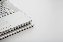 Part of laptop on iLap Stock Image