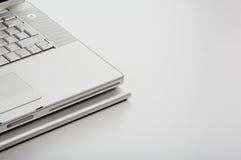 Part of laptop on iLap stock image