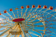 Part of a large Ferris wheel Royalty Free Stock Image