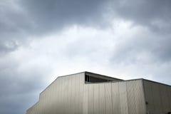 Inclement Hangar Stock Images