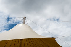 Part of large tent Royalty Free Stock Images