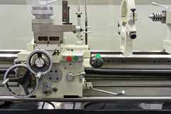 Part of the lathe Stock Photography