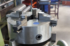 Part of the lathe Stock Image