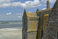A part of Le Mont Saint-Michel Royalty Free Stock Photo