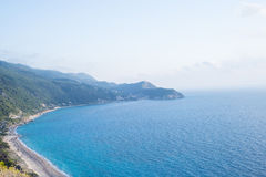 Part of Lefkada island Royalty Free Stock Photography