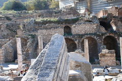 Part on the locality of Ephesus, Izmir, Turkey, Middle East Royalty Free Stock Photo
