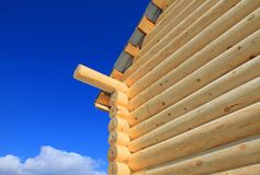 Part of the log cabin Royalty Free Stock Image