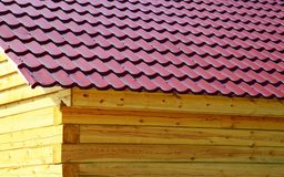Part of the log cabin Royalty Free Stock Images
