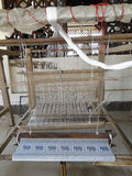 Part of loom in Luang Prabang Stock Image