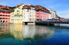 Part of Lucerne. Stock Photography