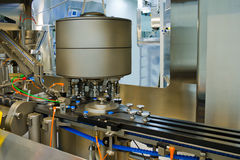 Part of a machine for the production of medicines Stock Image