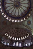 Part main dome of Sultan Ahmed Mosque Stock Photos