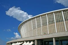 PART OF MAIN STRUCTURE OF MOSES MABHIDA STADIUM 2 Royalty Free Stock Images