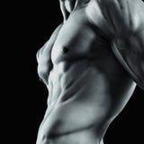 Part of a man's body Stock Photos