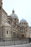 Part of Marseille Cathedral, France Royalty Free Stock Photos