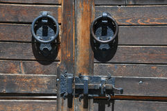Part of Medieval gate Stock Photography