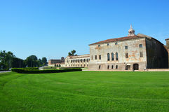 Part of the medieval St George Castle in Mantua Mantova, Italy Stock Photo