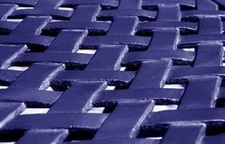 Part of metal construction pattern in blue tone. Abstract background and texture for design royalty free stock images