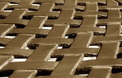 Part of metal construction pattern in brown tone. Abstract background and texture for design stock photos