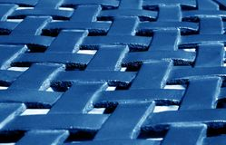 Part of metal construction pattern in navy blue tone. Abstract background and texture for design stock photos